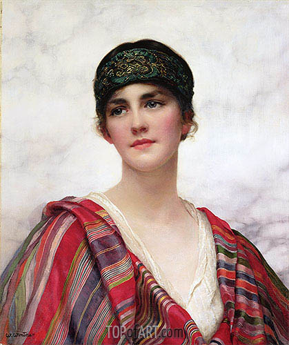 Cyrene, undated | William Clarke Wontner| Painting Reproduction