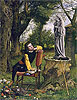 Titian Preparing to make his First Essay in Colouring | William Dyce