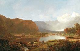 Fishermen in the Adirondacks, c.1860/70 von William Louis Sonntag | Gemälde-Reproduktion
