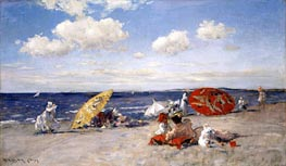At the Seaside | William Merritt Chase | Painting Reproduction