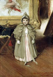 My Little Daughter Dorothy | William Merritt Chase | outdated