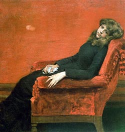 Study of a Young Girl | William Merritt Chase | outdated