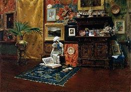 In the Studio | William Merritt Chase | Painting Reproduction
