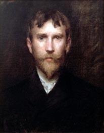 Robert Blum, 1888 by William Merritt Chase | Painting Reproduction