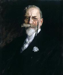 Self Portrait, c.1914 by William Merritt Chase | Painting Reproduction