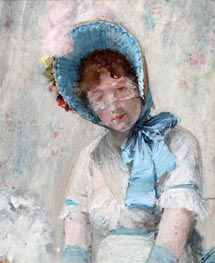 Harriet Hubbard Ayer, 1880 by William Merritt Chase | Painting Reproduction