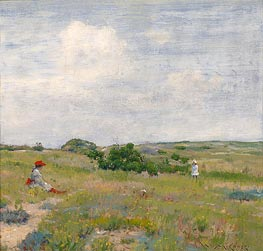Shinnecock Hills, c.1895 by William Merritt Chase | Painting Reproduction