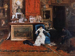 The Tenth Street Studio | William Merritt Chase | Gemälde Reproduktion