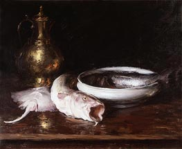 Still Life, c.1913 by William Merritt Chase | Painting Reproduction
