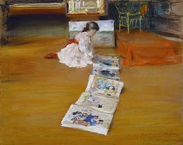 Shinnecock Studio Interior | William Merritt Chase | Gemälde Reproduktion