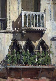 Venice Facade | William Merritt Chase | Gemälde Reproduktion