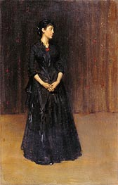 Woman in Black | William Merritt Chase | veraltet