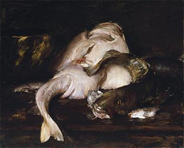 Still Life, Fish | William Merritt Chase | Gemälde Reproduktion