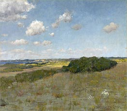 Sunlight and Shadow, Shinnecock Hills, undated von William Merritt Chase | Gemälde-Reproduktion