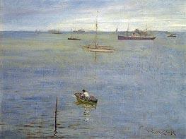 Harbor Scene | William Merritt Chase | veraltet