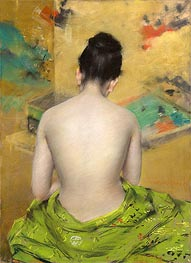 Study of Flesh Color and Gold | William Merritt Chase | veraltet