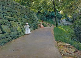 In the Park (A By-path), c.1889 von William Merritt Chase | Gemälde-Reproduktion