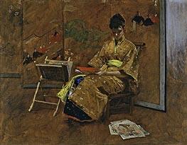 The Kimono | William Merritt Chase | veraltet