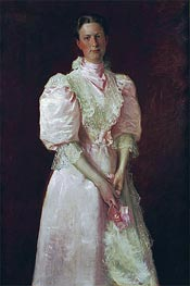 A Study in Pink (Mrs. Robert McDougal) | William Merritt Chase | veraltet