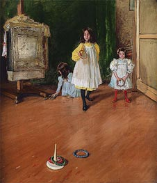 Ring Toss | William Merritt Chase | veraltet