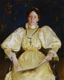 The Golden Lady | William Merritt Chase | veraltet