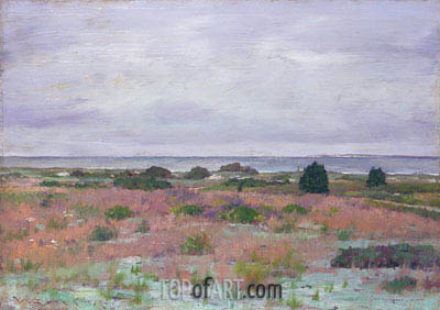 Near the Beach, Shinnecock, c.1895 | William Merritt Chase| Gemälde Reproduktion