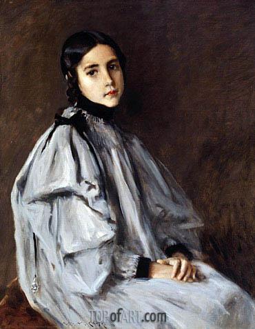 Dieudonnee, c.1899 | William Merritt Chase | Painting Reproduction