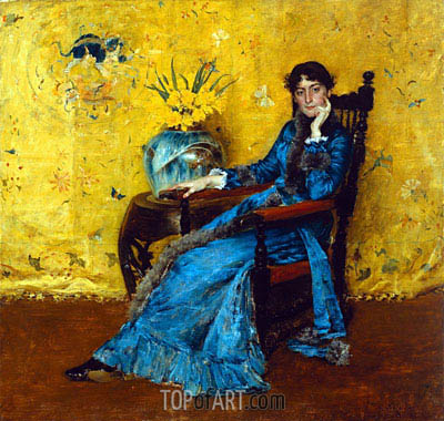 William Merritt Chase | Dora Wheeler, c.1882/83