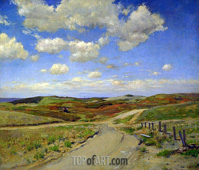 Shinnecock Hills, c.1895 | William Merritt Chase | Painting Reproduction