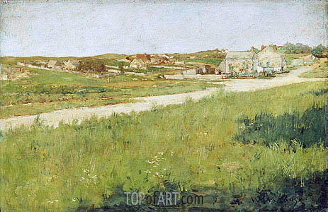 William Merritt Chase | Shinnecock Hills Landscape, c.1890/95