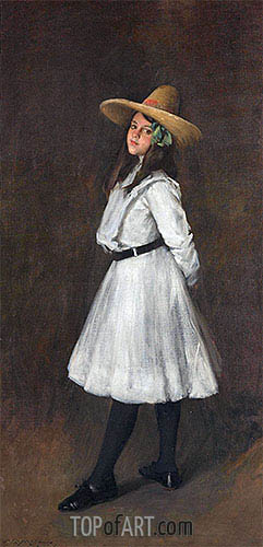 Dorothy, 1902 | William Merritt Chase | Painting Reproduction
