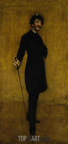 William Merritt Chase | James Abbott McNeill Whistler, 1885