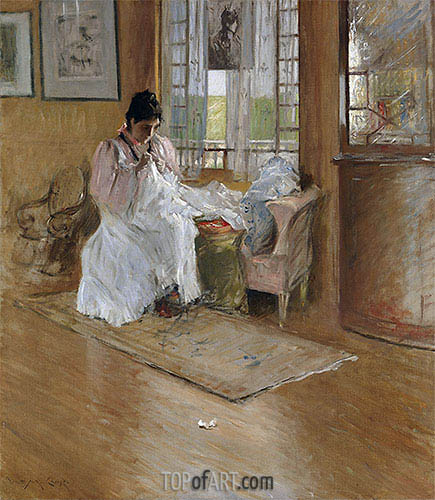 William Merritt Chase | For the Little One, c.1896