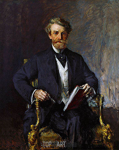 William Merritt Chase | William Andrews Clark, c.1915