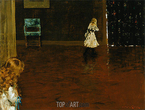 William Merritt Chase | Hide and Seek, 1888