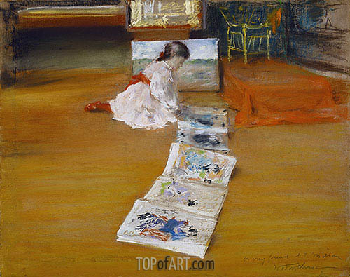 Shinnecock Studio Interior, 1892 | William Merritt Chase| Painting Reproduction