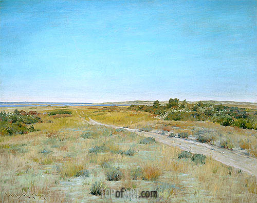 First Touch of Autumn, c.1898 | William Merritt Chase| Painting Reproduction