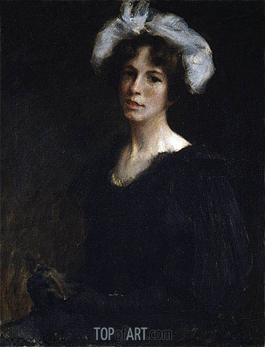 Bessie Potter, c.1895 | William Merritt Chase| Painting Reproduction