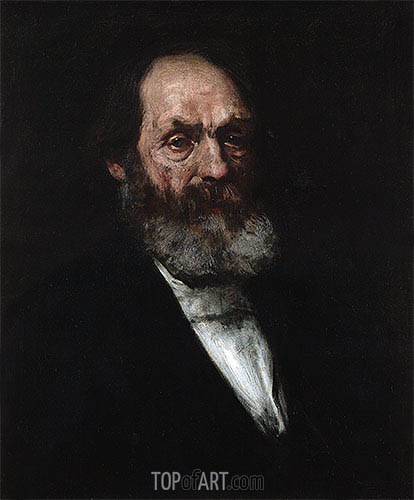 Portrait of Edward Everett Hale, c.1884 | William Merritt Chase| Painting Reproduction