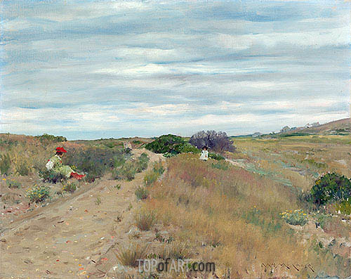 William Merritt Chase | The Old Sand Road, c.1894