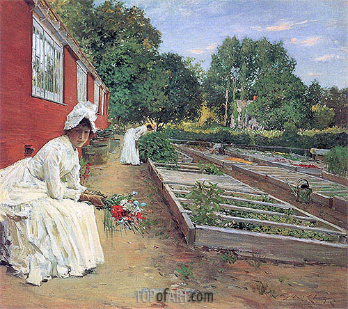 The Nursery, 1890 | William Merritt Chase| Painting Reproduction