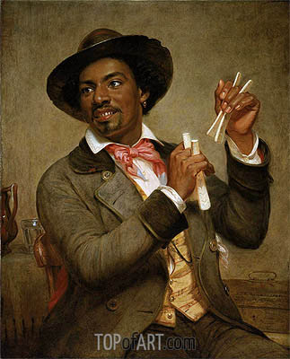 The Bone Player, 1856 | William Sidney Mount | Painting Reproduction
