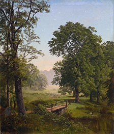 Landcape near Frankfort, Pennsylvania, 1861 by William Trost Richards | Painting Reproduction