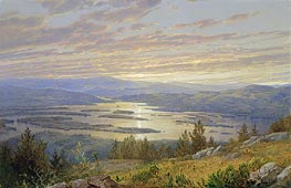 Lake Squam from Red Hill | William Trost Richards | Painting Reproduction