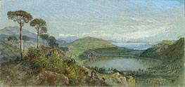 Lago Avernus | William Trost Richards | Painting Reproduction