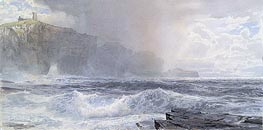 Sea and Cliffs | William Trost Richards | Painting Reproduction
