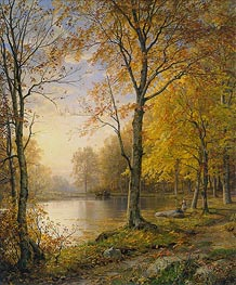 Indian Summer | William Trost Richards | Painting Reproduction