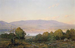 Sundown at Centre Harbor, New Hampshire | William Trost Richards | Gemälde Reproduktion