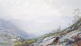 The Mount Washington Range, from Mount Kearsarge | William Trost Richards | Gemälde Reproduktion