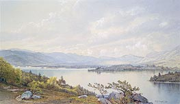 Lake Squam and the Sandwich Mountains | William Trost Richards | Gemälde Reproduktion